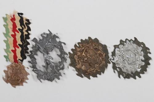 4 + Wehrmacht badges