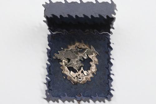 Luftwaffe Observer's Badge in case - Assmann