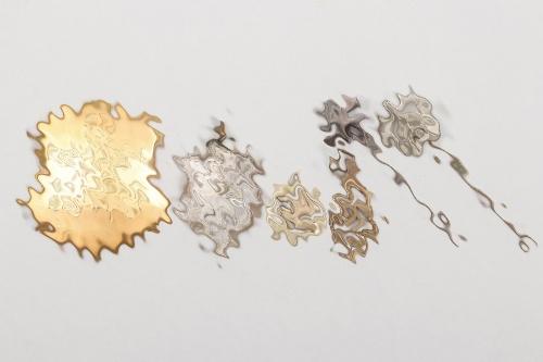6 + Third Reich pins & pendants