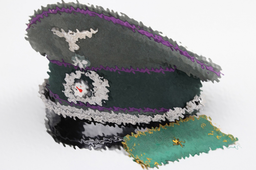 Heer priest's visor cap