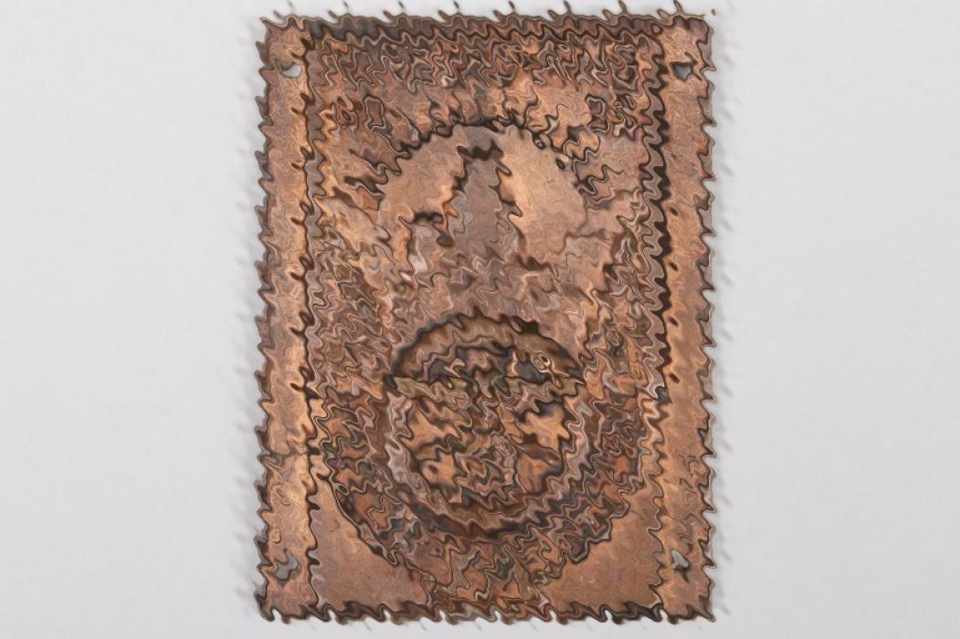 "1933 Motor-SA Treffen ""Nürburgring"" bronze plaque"
