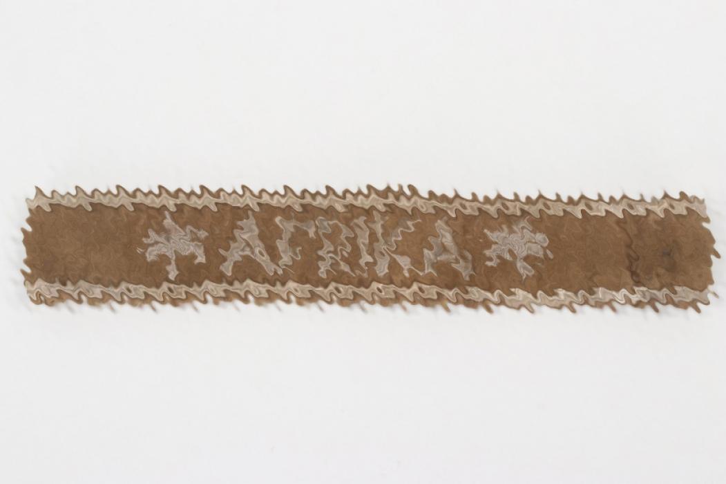 Wehrmacht AFRIKA cuff title