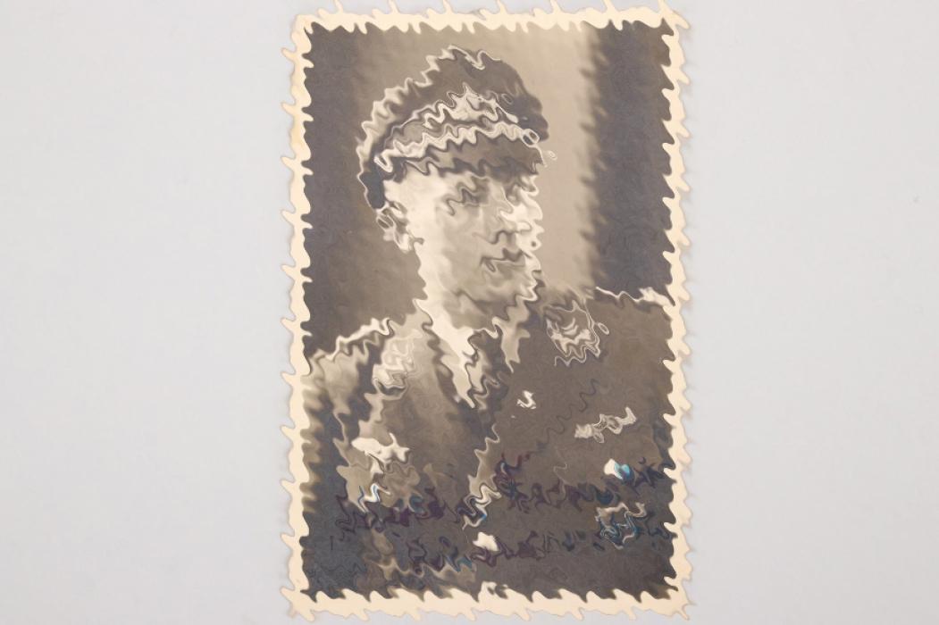 Petz, Georg - portrait of Martin Drewes with dedication