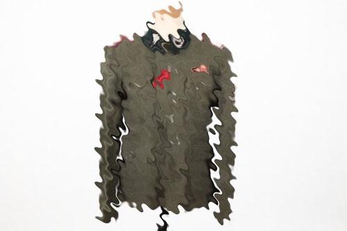"Waffen-SS veterinarian's ""2 hole"" field tunic"