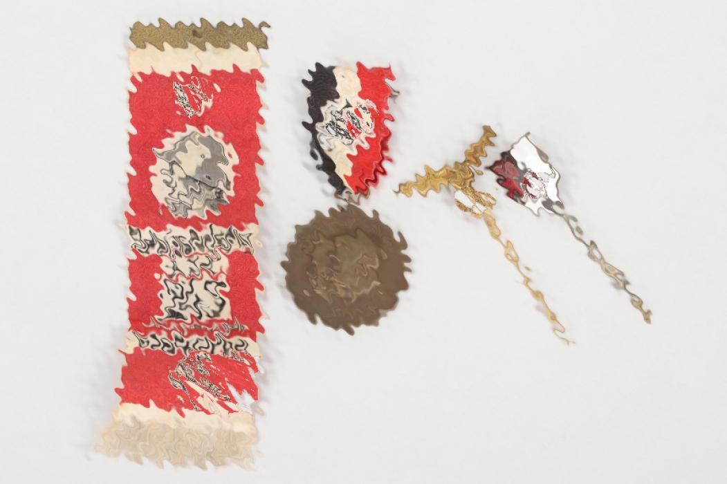 4 + Third Reich pins & badges
