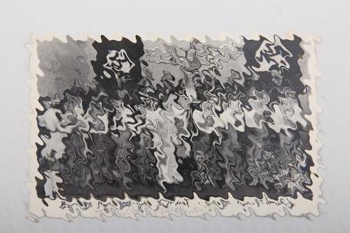 Third Reich postcard Russian National Choir BOYAR + signatures