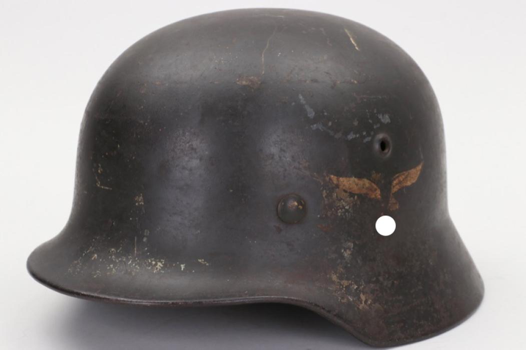 Luftwaffe M35 double decal helmet - Q64