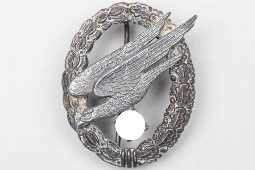 """Luftwaffe Paratrooper Badge - """"L/64"""" Assmann"""