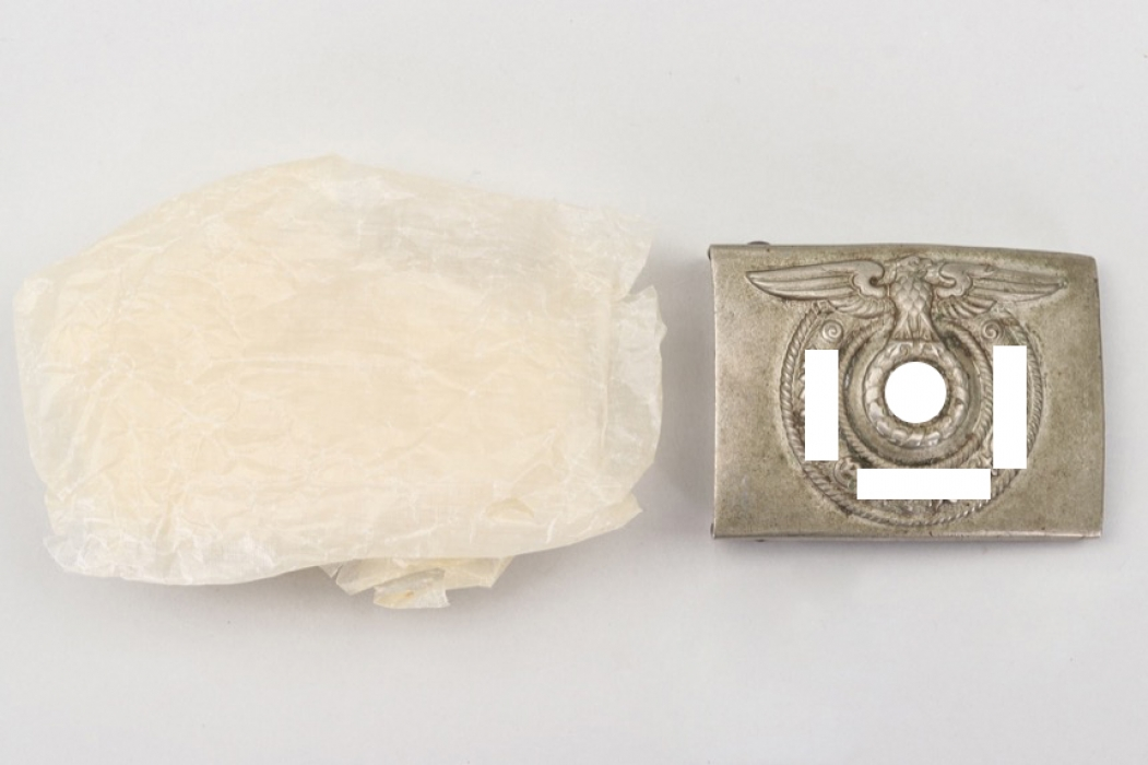 Waffen-SS EM/NCO buckle with paper - O&C